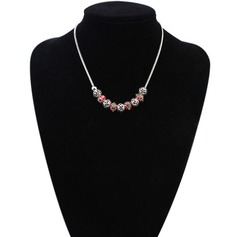Shining Copper Ladies' Fashion Necklace