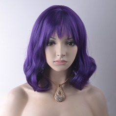 Loose Wavy Synthetic Hair Capless Wigs 220g