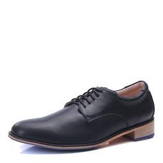 Herren Microfaser Leder Zuschnüren Derbies Abendschuhe Herren-Oxford-Schuhe