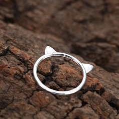 Unique Alloy Cat Ear Women's Fashion Rings