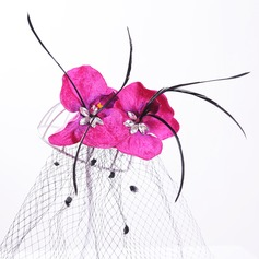 Ladies Beautiful Artificial Silk/Tulle Hairpins