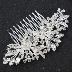 Ladies Gorgeous Alloy Combs & Barrettes With Rhinestone (Sold in single piece)