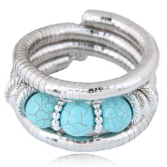 Fashional Alloy Resin Women's Fashion Bracelets (Sold in a single piece)