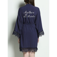 Cotton Mom Glitter Print Robes