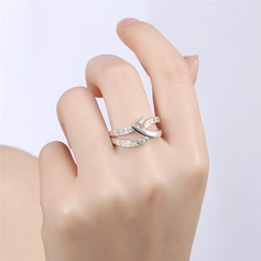 Unique Alloy Rhinestones With Rhinestone Women's Fashion Rings