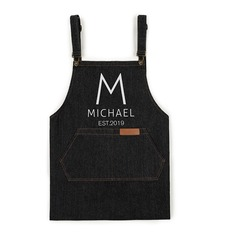 Vintage Soft Personalized Denim Apron