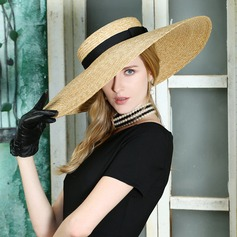 Ladies' Fashion/Special/Elegant Rattan Straw Peaked Cap/Beach/Sun Hats