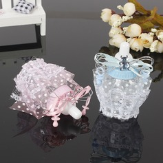 Sweet Love/Creative Bottle shaped Plastic Candy Jars and Bottles With Laces