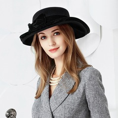 Ladies' Exquisite Wool With Bowknot Floppy Hats