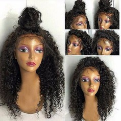 Curly Synthetic Hair Lace Front Wigs 300g