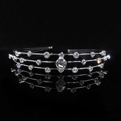 Enfants Simple Strass Tiaras