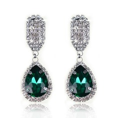 Gorgeous Alloy/Crystal/Glass Ladies' Earrings