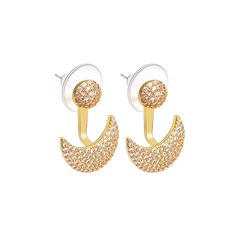 Ladies' Classic Alloy Crystal Earrings For Bride/For Bridesmaid/For Mother