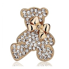 Unique Alloy Rhinestones With Rhinestone Ladies' Fashion Brooches (Sold in a single piece)
