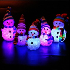 Christmas Decoration Color Changing Led Snowman Lamp