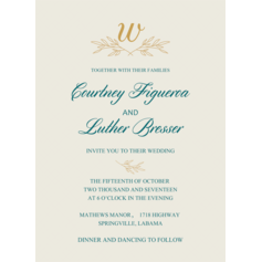 Love Letters Wedding Cards