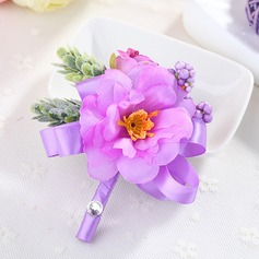 Girly Fabric Boutonniere -