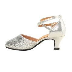 Women's Leatherette Sparkling Glitter Heels Ballroom Dance Shoes (053106445)