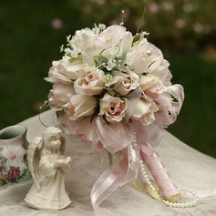 Delicate round satin bridal bouquets 124032097 wedding flowers delicate round satin bridal bouquets 124032097 junglespirit Choice Image