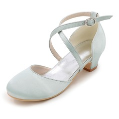Girl's Closed Toe Pumps Flower Girl Shoes
