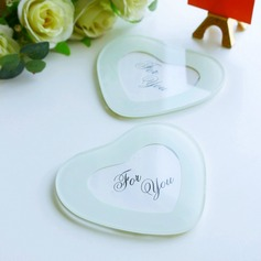 """Tea Time""/Lovely Heart Shaped Glass Tea Party Favors"