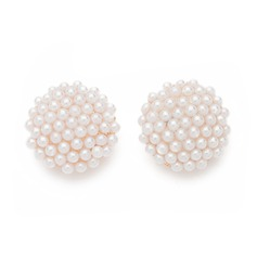 Beautiful Alloy/Pearl Ladies' Earrings