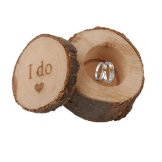 Groom Gifts - Wooden Ring Box