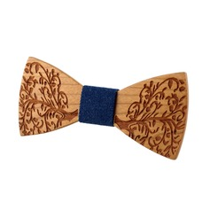 Classic Wood Bow Tie (200121368)