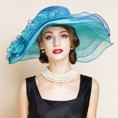 Ladies' Romantic/Vintage/Artistic Cambric Fascinators/Kentucky Derby Hats
