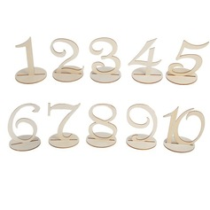 Number Seat Card(Set of 10)