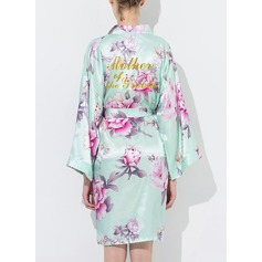 Bride Bridesmaid Cotton Floral Robes