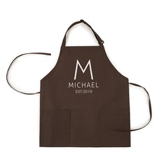 Elegant Classic Soft Personalized Polyester Apron