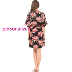 Personalized Polyester Feminine Robe (20 letters or less)  (041116928)