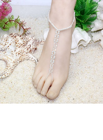 Crystal Glass Foot Jewellery Accessories
