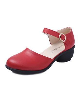 Women's Leatherette Pumps Practice Dance Shoes
