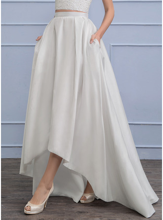 Separates Asymmetrical Taffeta Wedding Skirt (002110493)