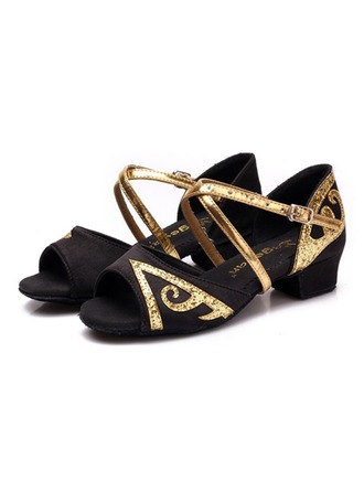 Women's Leatherette Flats Latin Dance Shoes