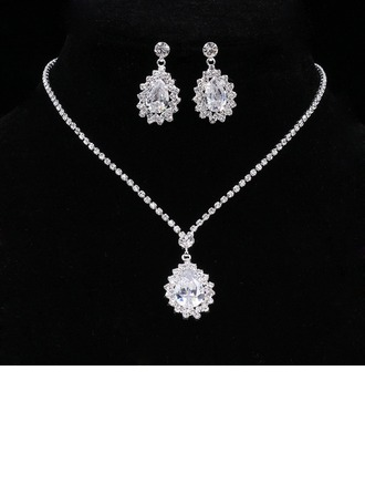 Vintage Alloy/Rhinestones With Rhinestone Ladies' Jewelry Sets
