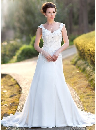 Most Popular Garden Outdoor Wedding Dresses 2017 Cheap