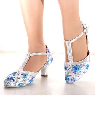 De mujer Malla Tacones Danza latina Zapatos de danza