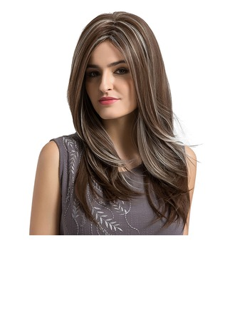Straight Synthetic Hair Capless Wigs 320g