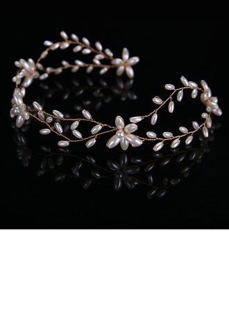 Ladies Special Alloy/Imitation Pearls Headbands