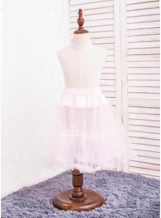 Girls Tulle Netting 2 Tiers Petticoats