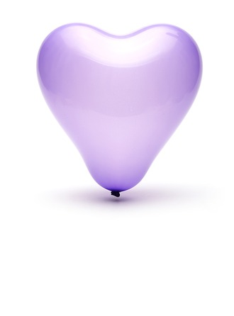 Belle Conception de coeur Ballon
