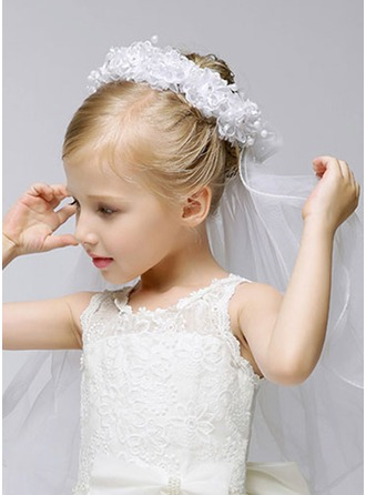 Organza Flower Girl / Communion Voiles