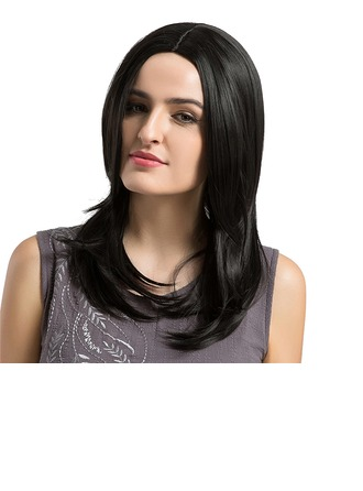 Straight Synthetic Hair Capless Wigs 330g