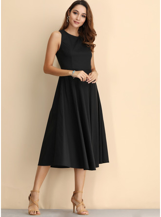 Cotton Midi Dress