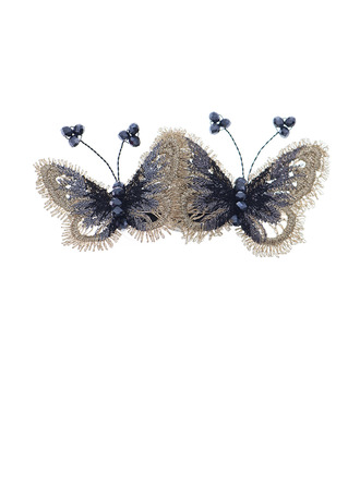 Ladies Beautiful Crystal Hairpins With Crystal (Set of 2)