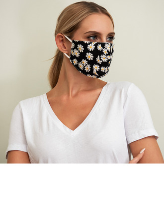 Non-Medical Cotton Reusable Face Masks With Adjustable Loop