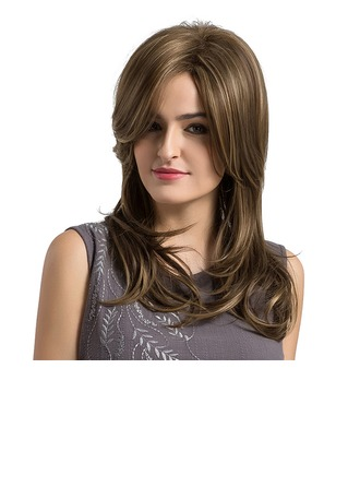 Body Wavy Synthetic Hair Capless Wigs 300g